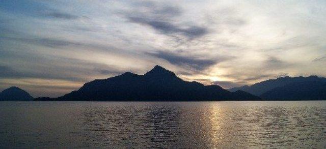 Porteau Cove Sunset in March