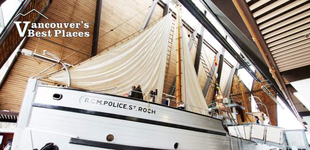 St. Roch at Maritime Museum