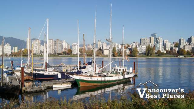 Vancouver View from Maritime Museum