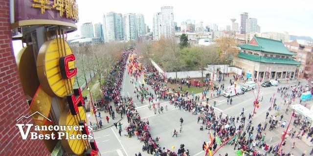 Chinatown at New Year
