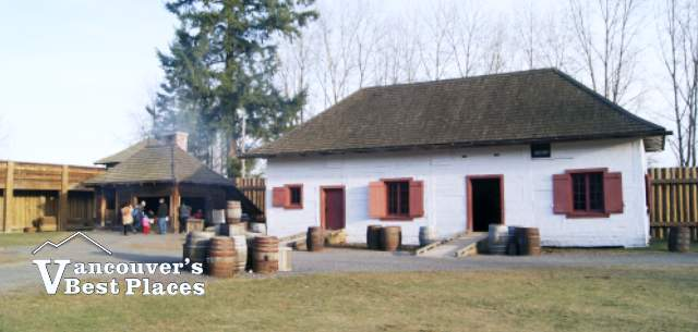 The Storehouse at Fort Langley