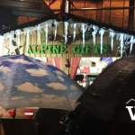 Christmas Market in the Rain