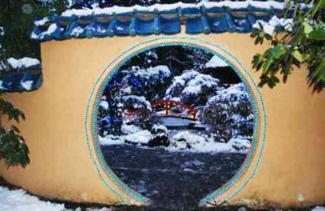 Park and Tilford Gate at Christmas