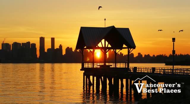 Waterfront Park Sunset