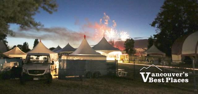 Bard Village on Fireworks Night