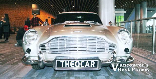 James Bond Car at Auto Show