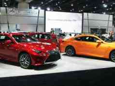 Lexus Cars on Display