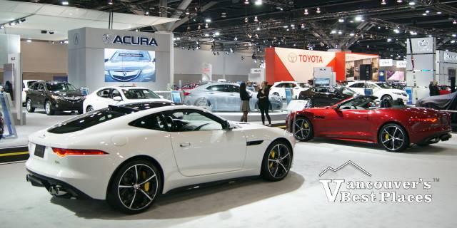 Vancouver Auto Show Floor