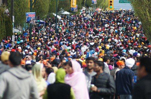 Main and 49th at Vaisakhi Parade