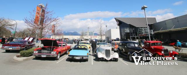 Easter Car Rally at Trev Deeley Motorcycle