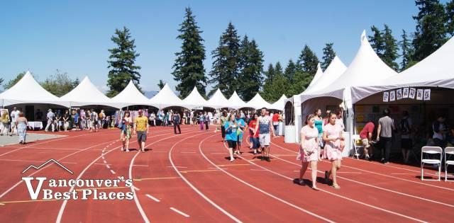 Festival Stalls at Swangard