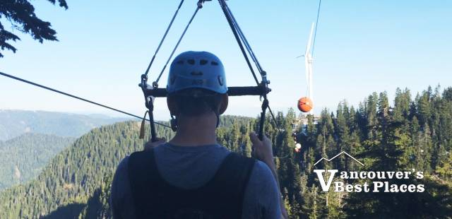 Final Grouse Zipline Course