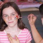 Girl at Face Painting