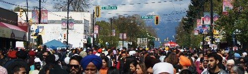 Main and 49th at Vaisakhi Parade