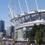 Sun Run by BC Place Stadium