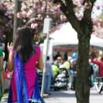 Walking to Vaisakhi Parade