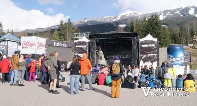 Whistler Festival Stage