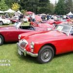 British Car Show at VanDusen Garden