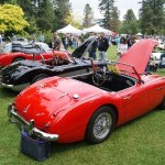 British Collectible Cars at VanDusen