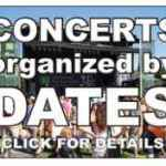 Jazz Concerts by Date