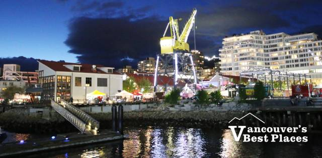 Shipbuilders' Square from North Vancouver Pier