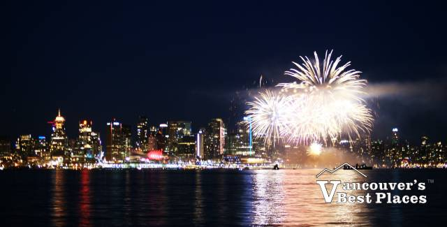 Vancouver Fireworks in July