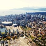 Vancouver Mountain and Ocean Aerial Views