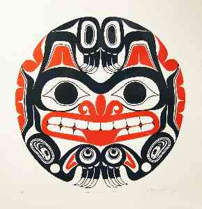 Haida Grizzly Bear by Bill Reid