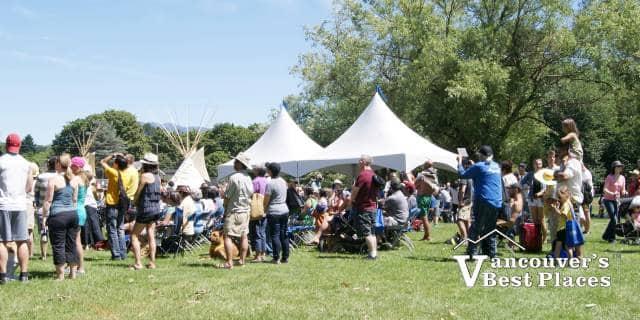 National Aboriginal Day Crowds