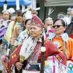 First Nation Women in Procession