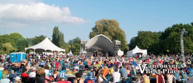 Folk Fest Main Stage Venue