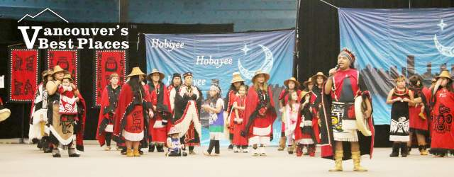Hoobiyee Nisga'a New Year Event