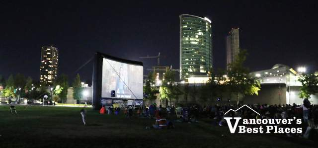 Outdoor Movie Night at Holland Park
