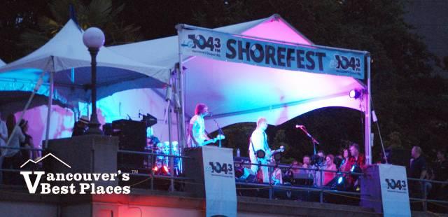 Shorefest Band at Celebration of Light
