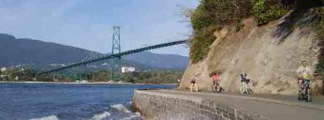 Cycling Stanley Park Seawall