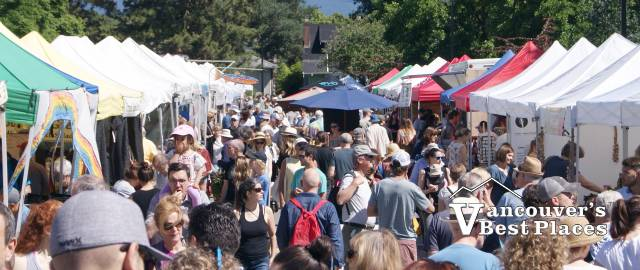 Sunday Market in Kitsilano