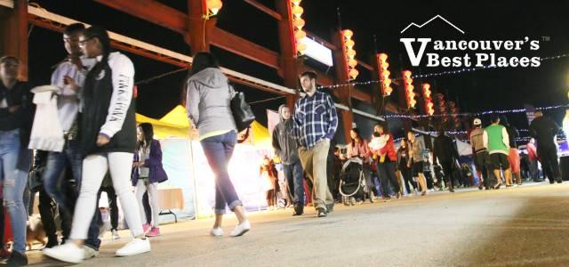 Food Stalls at Summer Night Market