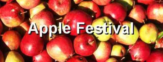 Apple Festival Banner