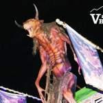 Potter's Exterior Monster Display