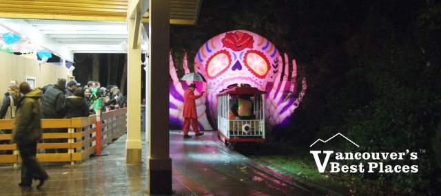 Stanley Park Dia de los Muertos Train