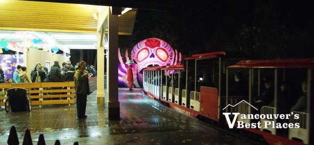 Stanley Park Train at Halloween
