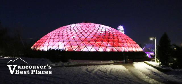Bloedel Conservatory at Christmas