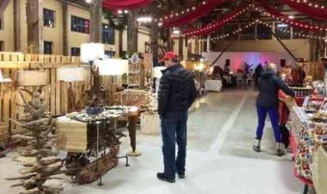 Displays at Shipyard Christmas Market