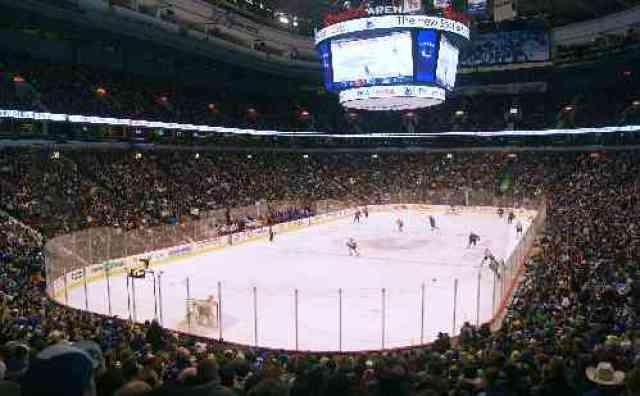 Rogers Arena Ice Hockey