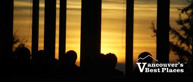 Horizons Sunset Silhouettes
