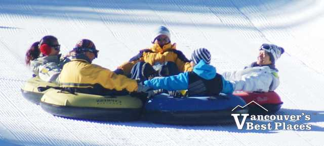 Tubing at Cypress