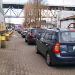 Parking Traffic at Granville Island