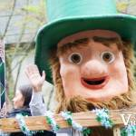 St. Patrick's Parade Float Character