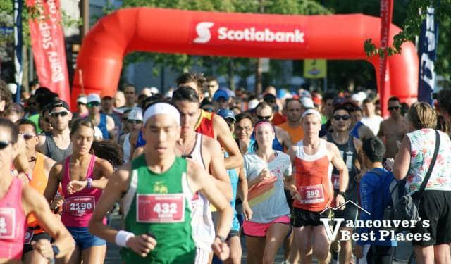 Scotiabank Half Marathon Start