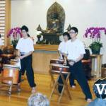 Drummers at Chan Culture Centre